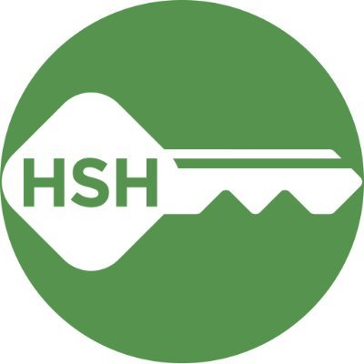 """HSH simplified logo of key with """"HSH"""""""