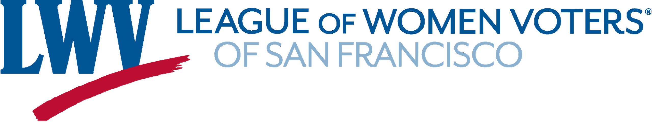 League of Women Voters of SF Logo